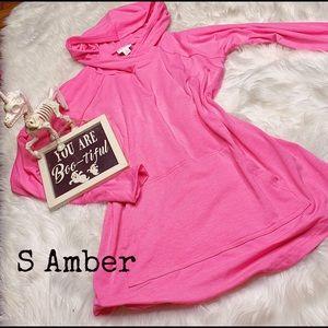 LLR S Pink BCA Amber Hoodie BNWT